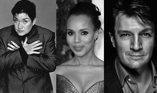 "Lea DeLaria, Kerry Washington, Nathan Fillion Join Cast Of ""Cars 3"""