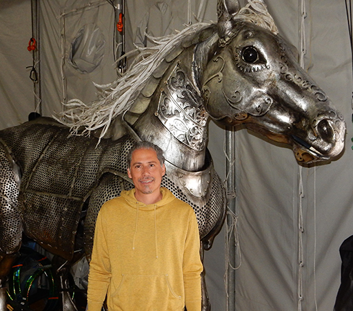 """Emmanuel Cyr Talks Cirque Du Soleil """"Luzia"""", Puppetry & Life"""