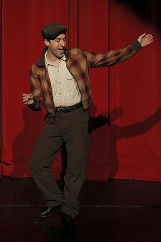 John David Scott as Puck. Photo by Chris Bennion