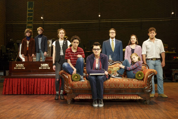 The National Tour Company of Fun Home. Photo credit: Joan Marcus