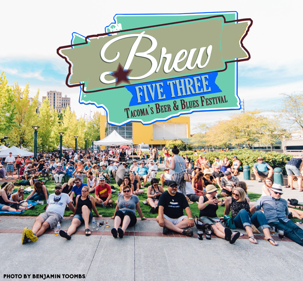 Brew Five Three: Tacoma's Beer & Blues Festival