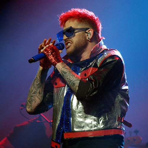 All photos were taken at the Queen + Adam Lambert concert at Key Arena on July 1, 2017
