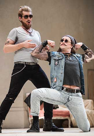 Così fan tutte's Michael Adams (Guglielmo) and Ben Bliss (Ferrando). (Photo by Philip Newton) on equality365.com