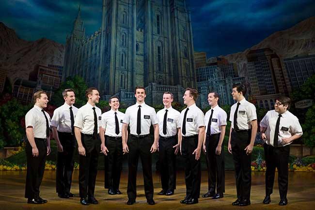 """The Book of Mormon"" Company. Photo by Julieta Cervantes"