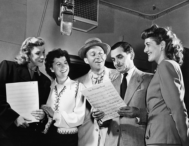 Irving Berlin, Bing Cosby & the Andrews Sisters on equality365