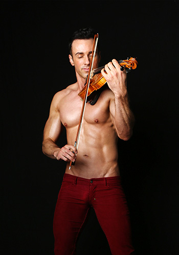 Interview: Seattle's Shirtless Violinist Matthew Olshefski