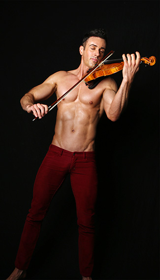 Matthew Olshefski the Shirtless Violinist interview on equality365.com