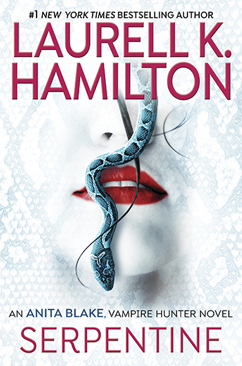 Laurell K Hamilton SERPENTINE cover art and interview on Equality365.com