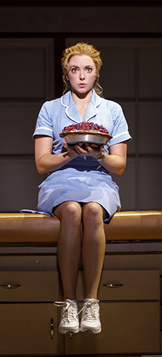 Desi Oakley in the National Tour of WAITRESS Credit Joan Marcus
