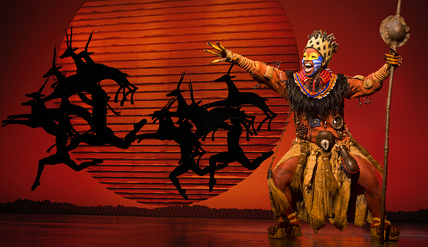 Mukelisiwe Goba (Rafiki) ©Disney.  (Photo by Matthew Murphy)