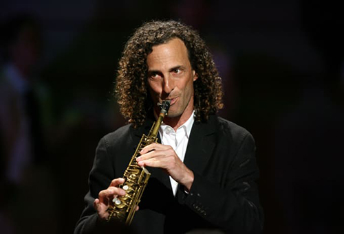 Kenny G at Jazz Alley in Seattle
