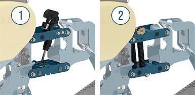 Equalizer Precision C Planter Unit Down force | www.equalizer.co.za