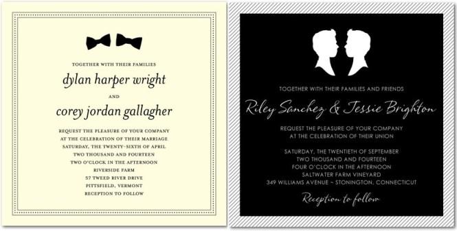 5 Free Sample Invitations