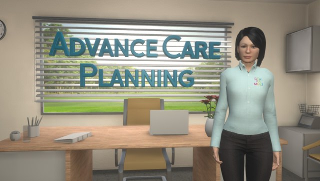 Think Ahead, Advance Care planning, MCCI VR Diversity Inclusion Training Health