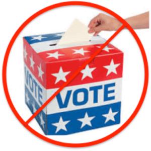 no access ballot box