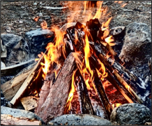 071118 Vacation Campfire
