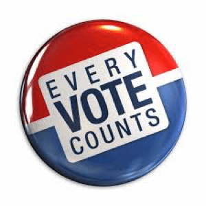 080118 Voter Turnout Button