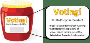 091218 Voting Jar