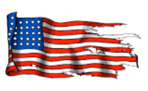 101018 Torn American Flag