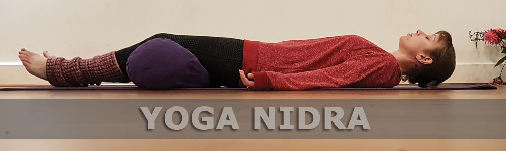 Jenna Richards in Yoga Nidra