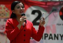 Calon Gubernur Kalbar nomor urut 2, dr. Karolin Margret Natasa