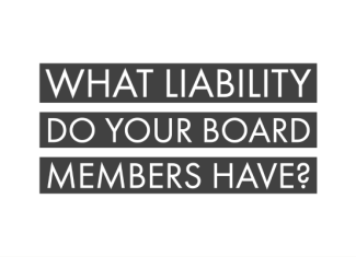 What Liability Do Your Board Members Have?