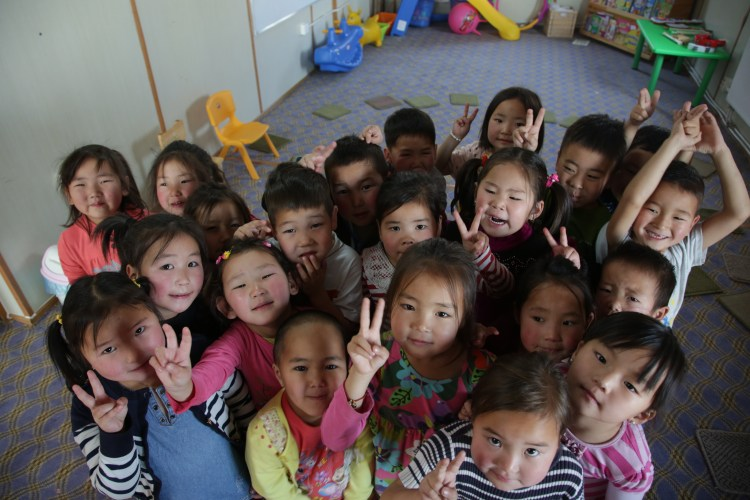The Veloo Foundation provides Kindergartens for kids in Mongolia