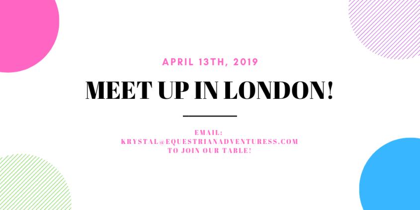 Meet Up in London for All Equestrian Adventuresses Calendar Event