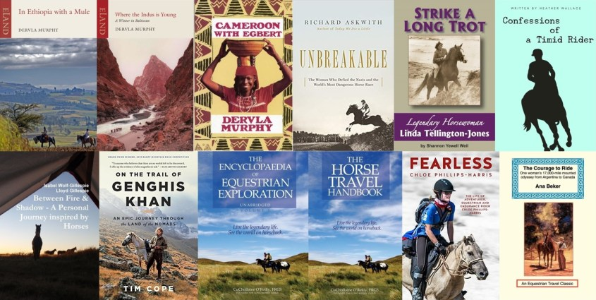 Collection of book covers from the travel adventure books list - Part 2