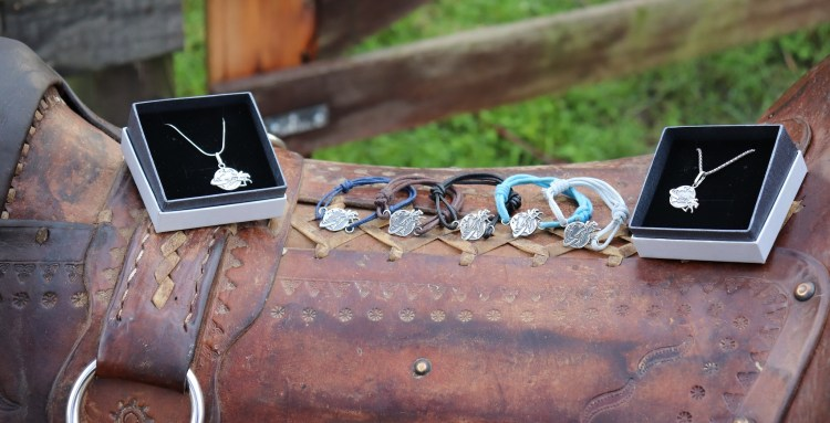 The Equestrian Adventuresses Jewelry Collection - Bracelets, Pendants and Necklaces