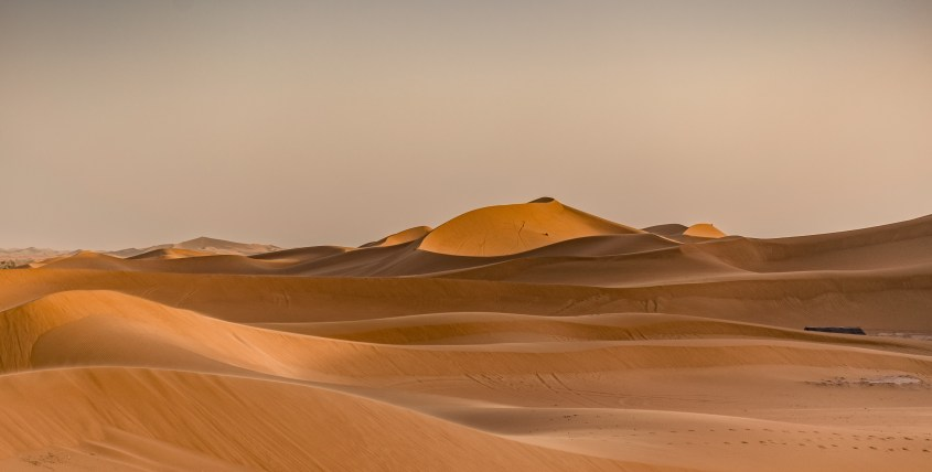 Dunes in the Moroccan Desert