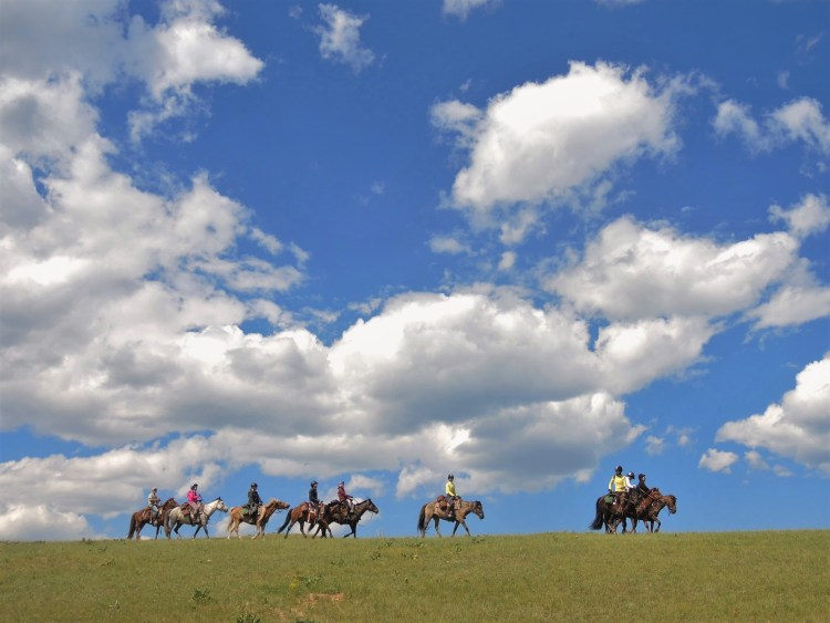 Mongolia - the land of the blue sky