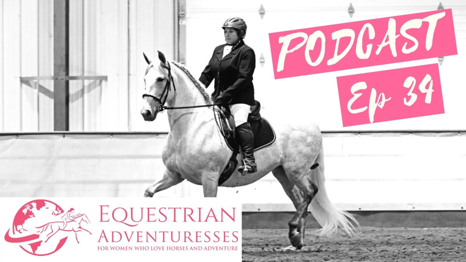 Equestrian Adventuresses Travel and Horse Podcast Ep 34 - Andalusian Horse Breeder, Trainer and Even a Farrier Colleen Aitken