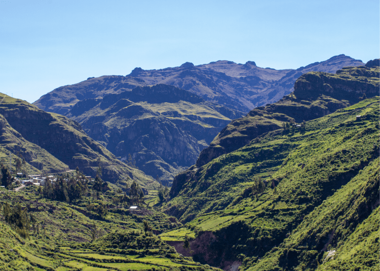 The Sacred Valley of the Incas is an amazing place to explore on a horse riding trip through Peru