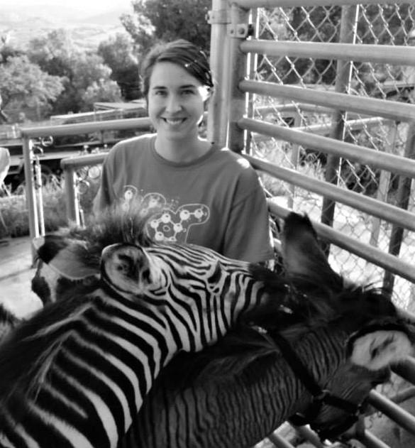 Eleanor Carrano and a little Zebra adventure