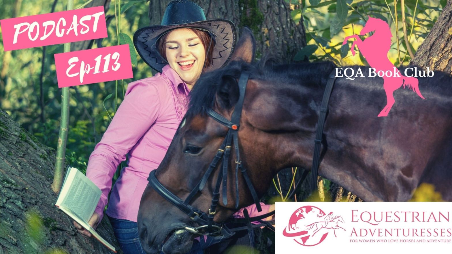 Equestrian Adventuresses Travel and Horse Podcast Ep 113 - EQA Book Club