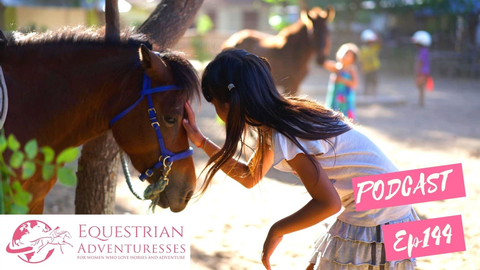 Equestrian Adventuresses Travel and Horse Podcast Ep 144 - Saving the horses of the Gili Islands