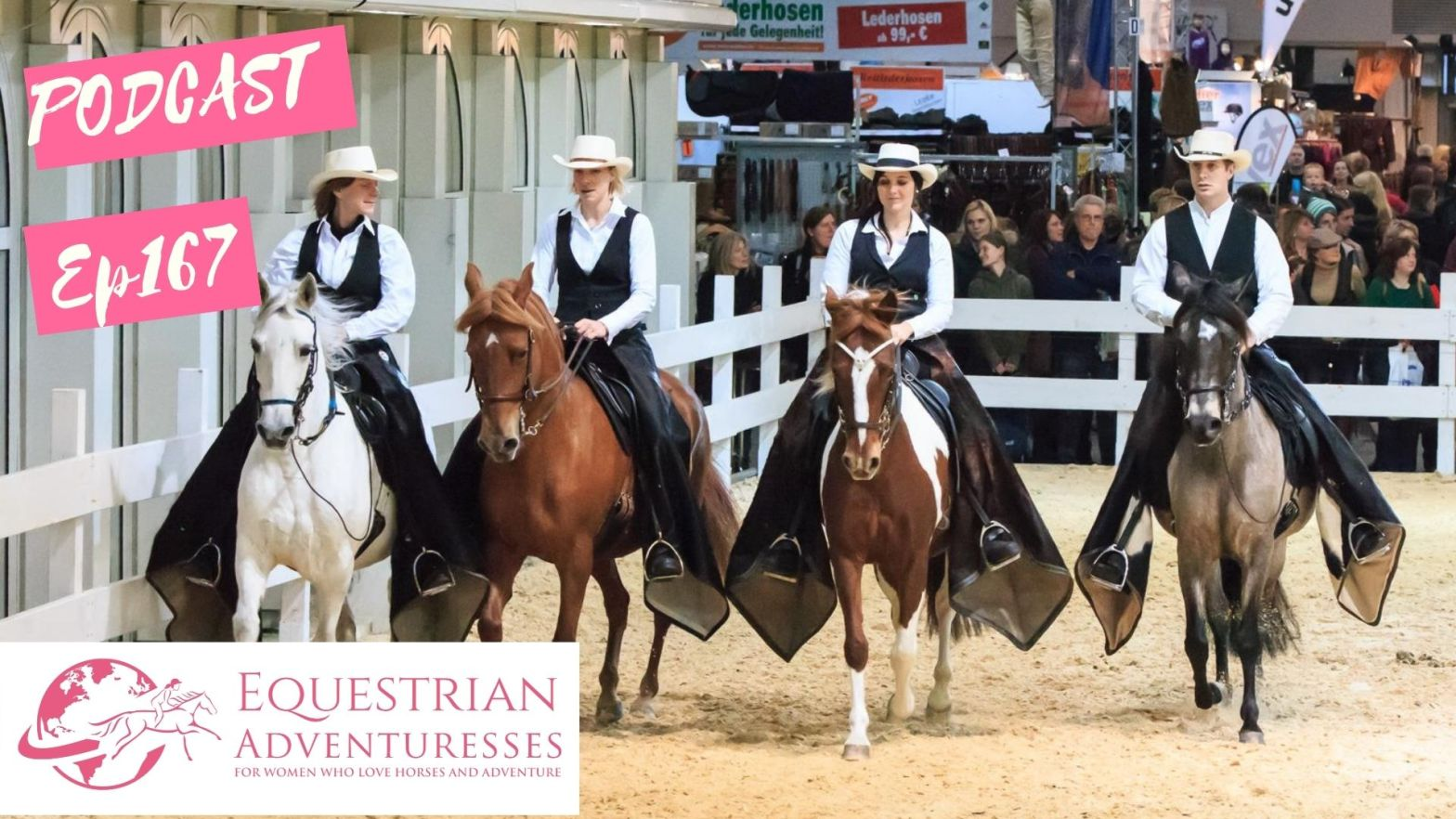 Equestrian Adventuresses Travel and Horse Podcast Ep 167 - Paso Fino - The Smoothest Horse in the World