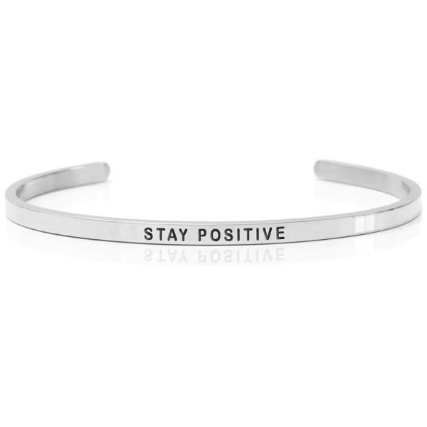 STAY POSITIVE – Armband (Daniel Sword)