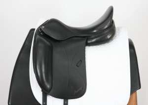 Left Side of Used Amerigo Classic Dressage 17.5W SN: 4507127