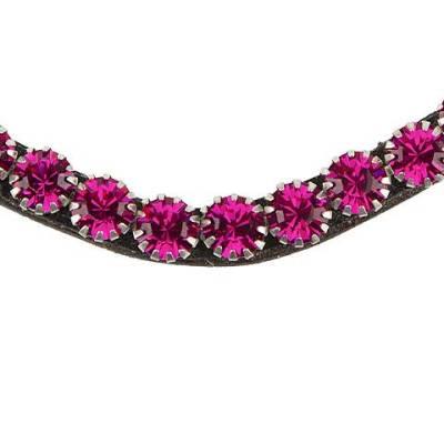 pink bling swarovski browband