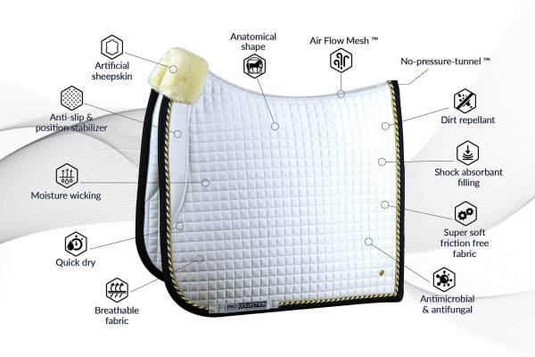 pro saddle pad by ps of sweden benefits and features