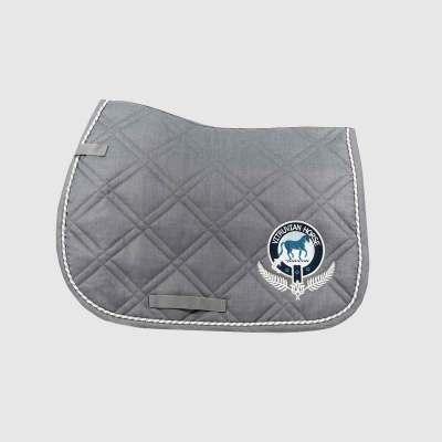 Vitruvian Horse saddle quilt