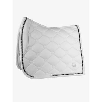 white dressage pad