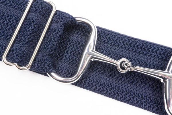 Navy Snaffle bit belt