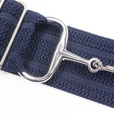 Navy Snaffle bit belt