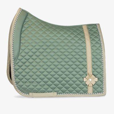 sage bow saddle pad