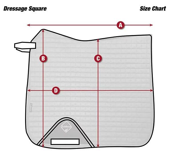 tapis lemieux luxury dressage square gris l