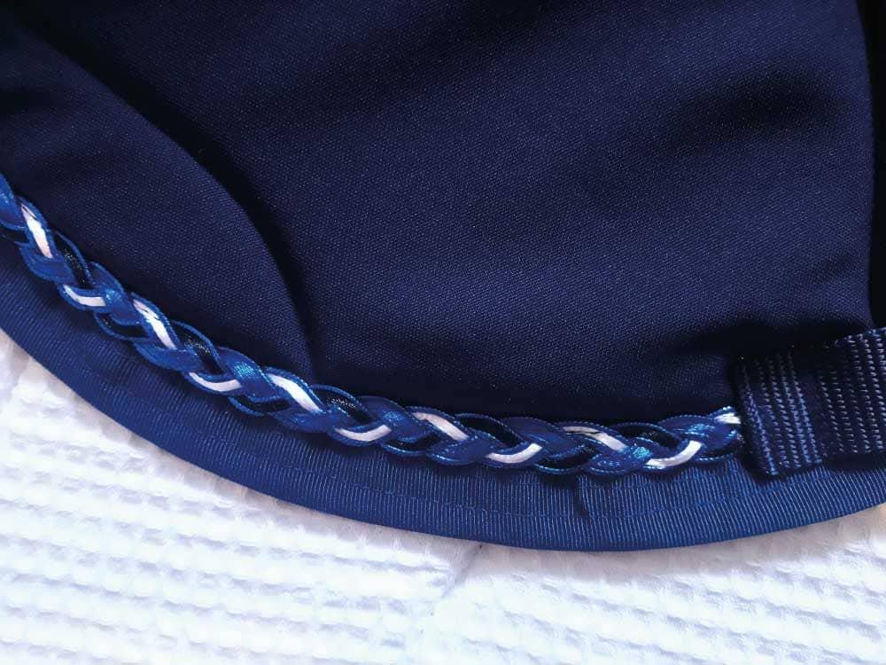 tapis de selle bleu marine collection sport
