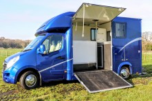 Used Equihunter Arena 3.5 Tonne Horsebox For Sale on a Vauxhall Movano Chassis